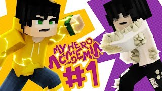 Minecraft My Hero Academia Episode 1 - THE ALL FOR ONE INCIDENT! (Minecraft Superhero Roleplay)