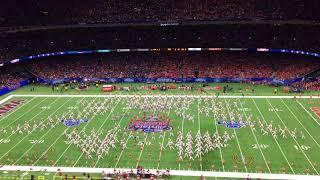2018 Sugar Bowl Halftime Show - Million Dollar Band