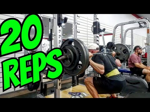 Day 4 Of 20 Rep Squats Every Day Crushed Me!