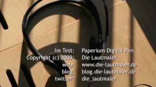 Die LAUTMALER - Im Test: Paperium 1.5 Digital Pen
