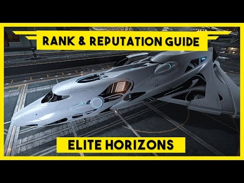 Elite Dangerous Rank Progression and Reputation Guide - How to rank up with a major faction