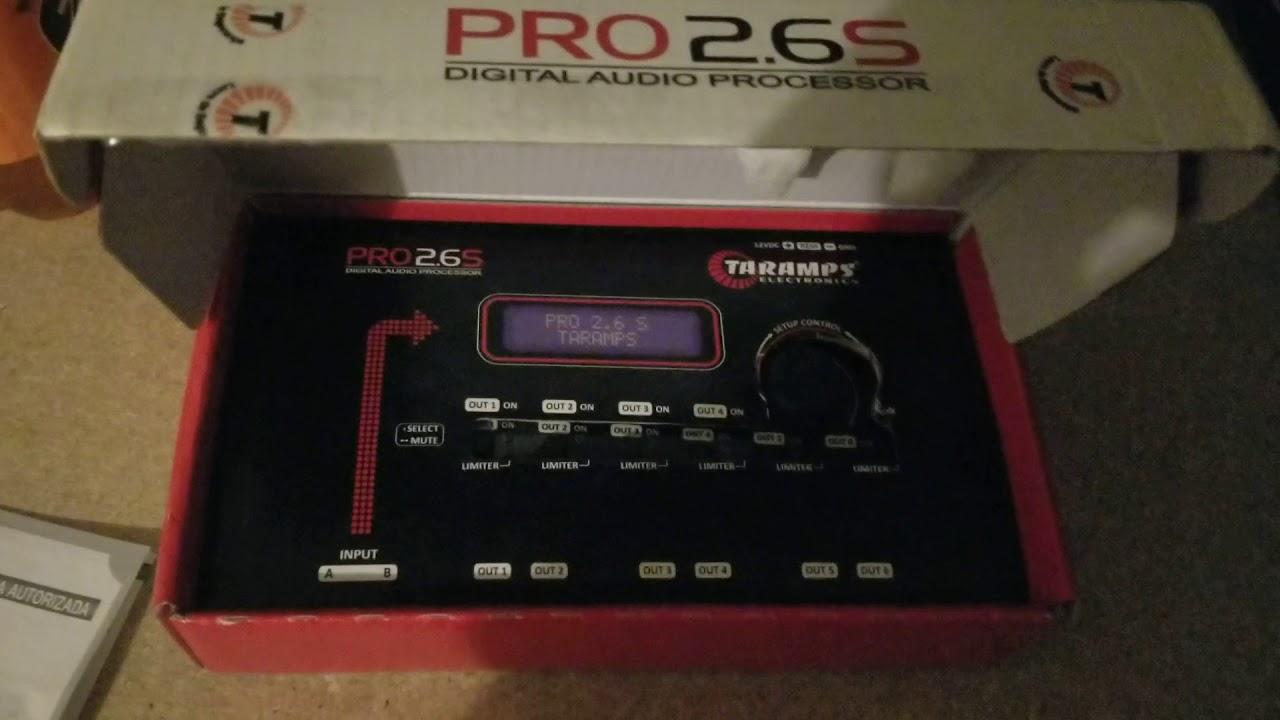 Taramps Pro 2.6 S Digital Audio Processor Taramp/'s PRO 2.6s
