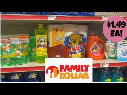 Family Dollar / $5/$25 Savings / Deals 2/2-8/20/ Breakdown Included!