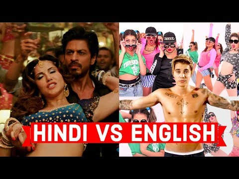 English vs Hindi Songs | which one is best | How foreigners react On Indian songs