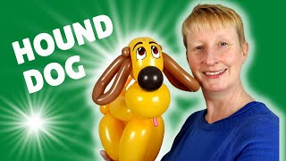 Balloon hound dog tutorial - how to make a fancy balloon dog