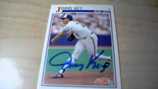 Jimmy Key TTM Success