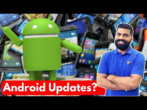 Why no Android Updates? What is the reason? Latest Android Updates?