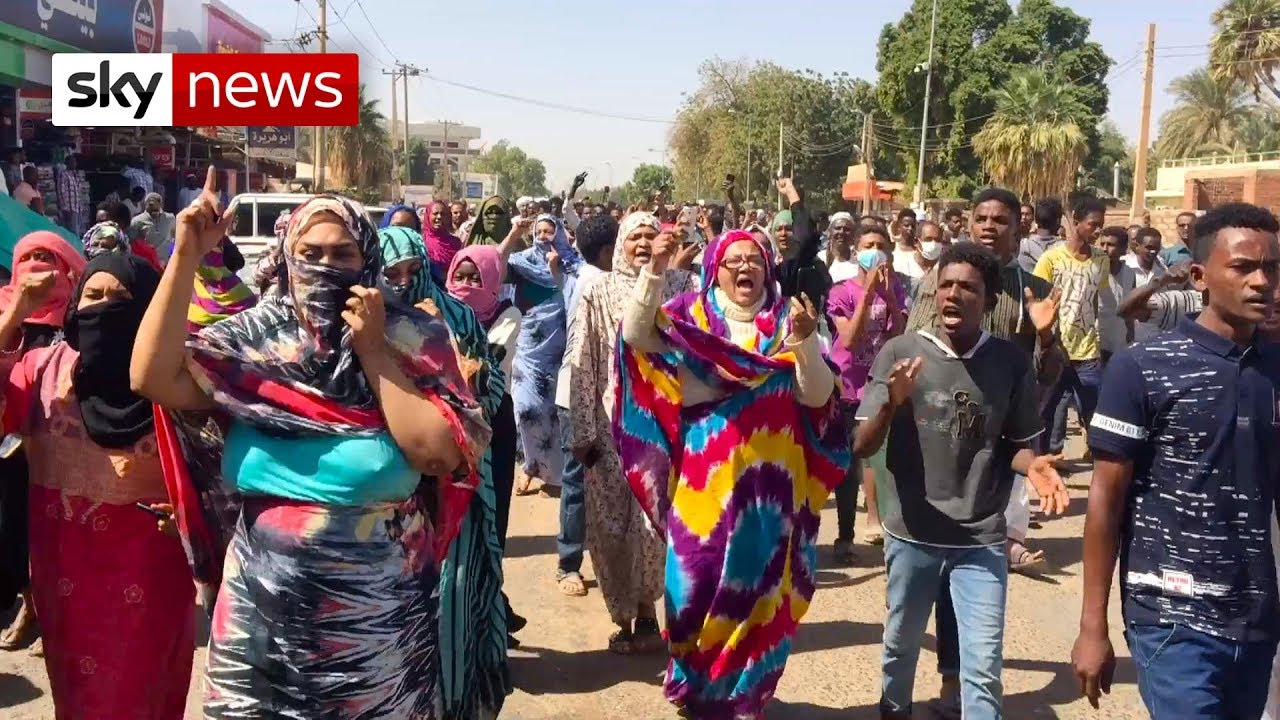 Three killed as thousands of protesters gather in Sudan overnight