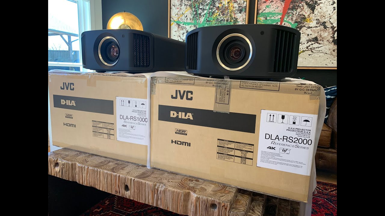 SHOOTOUT: JVC DLA RS2000 / NX7 VS  JVC DLA RS1000 / NX5 4K Projector