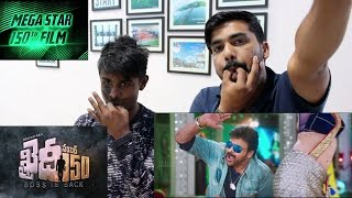 Khaidi No 150 Official Theatrical Trailer Reaction In HIndi & Marathi !! The SNAP Boys Fun
