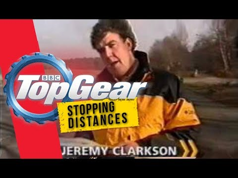 Jeremy Clarkson  Discuss 'Stopping Distances' | Ford Anglia |