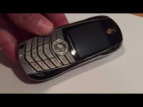 rand New Luxury Porsche Design Cayman S Cell Phone (Silver)