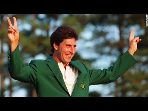 Jose Maria Olazabal won his second Masters.