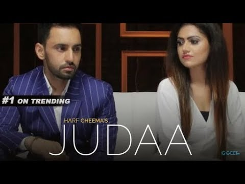JUDAA   Harf Cheema Full Video Sukhe   Tanya   Satti Dhillon   Sad Song   GK D