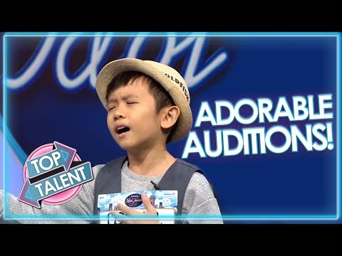 ADORABLE AUDITIONS On Indonesian Idols Junior! | Top Talent