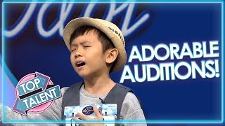 Download lagu ADORABLE AUDITIONS On Indonesian Idols Junior Top Talent