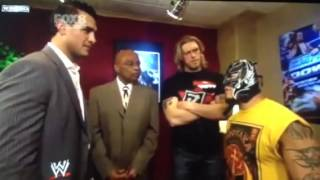 WWE Smackdown - Edge, Teddy Long, Rey Mysterio, and Alberto