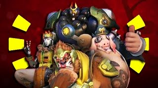 Overwatch - ALL LEAKED Chinese New Years Skins