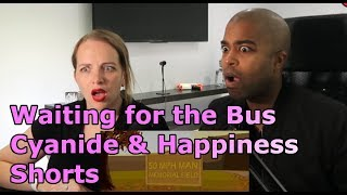Waiting for the Bus - Cyanide & Happiness Shorts (REACTION 🔥)