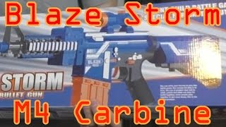 Blaze Storm M4 Carbine Unboxing and Review