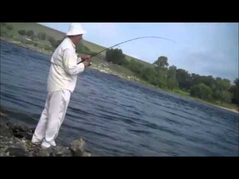 striped bass fishing at denison dam of lake texoma in