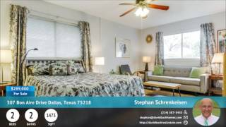 307 Bon Aire Drive Dallas, Texas 75218 | For Sale