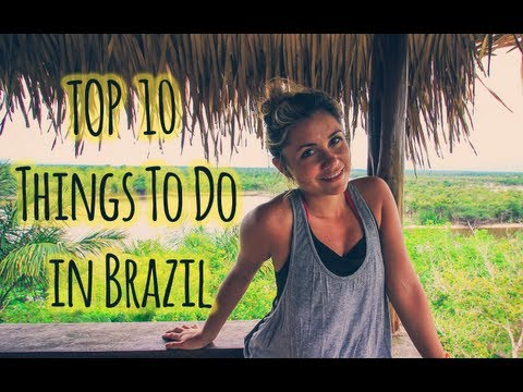 Top 10 Things To Do in Brazil Travel Video