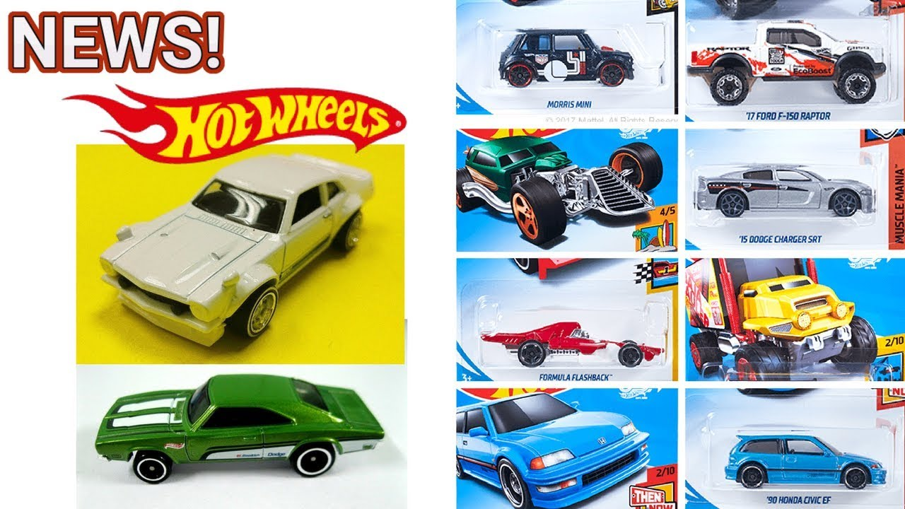 2018 Hot Wheels Custom Maverick 69 Charger Giveaway Updates