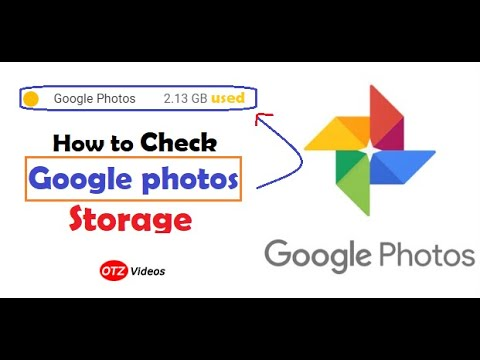 How to check Google Photos Storage