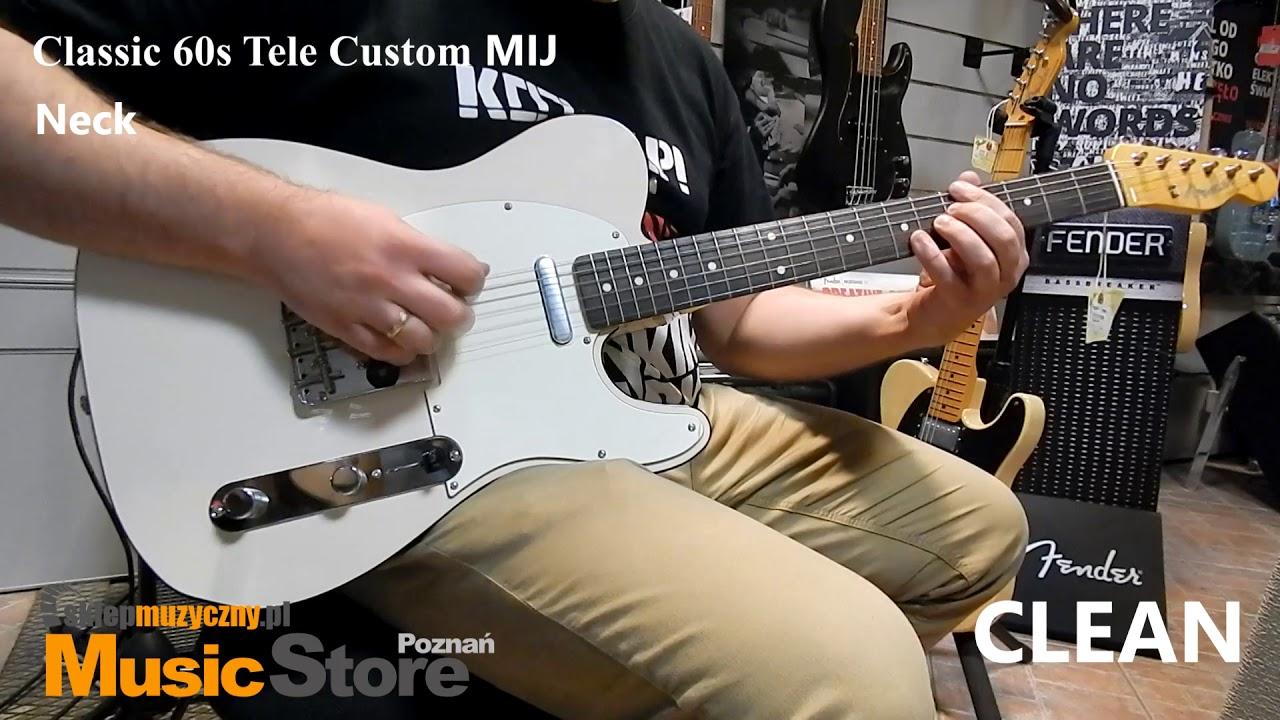 MIJ Fender Classic 50S Telecaster Special OWB vs Fender Classic 60s Tele  Custom