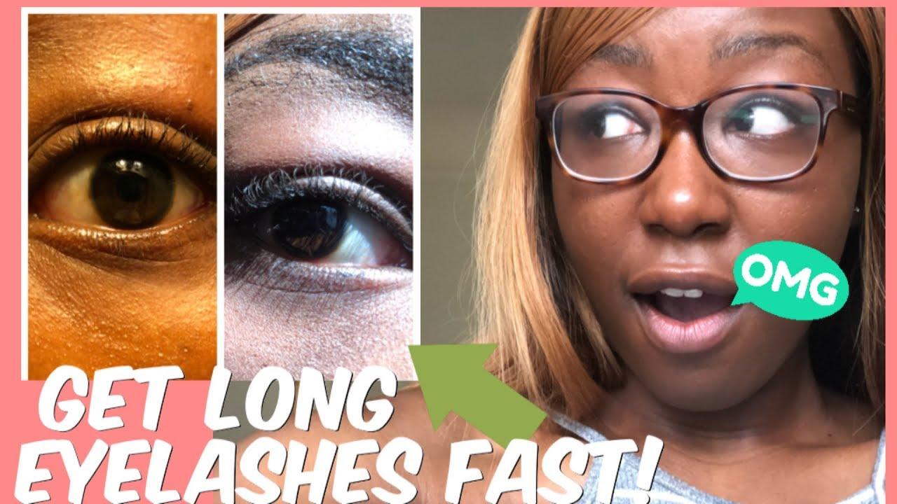 How to Grow Your Eyelashes | Get Longer Eyelashes Fast ...