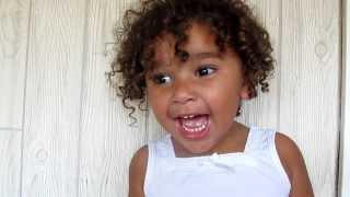 cute little girl fake scream i m not screaming bloody murder annoying 2 year old