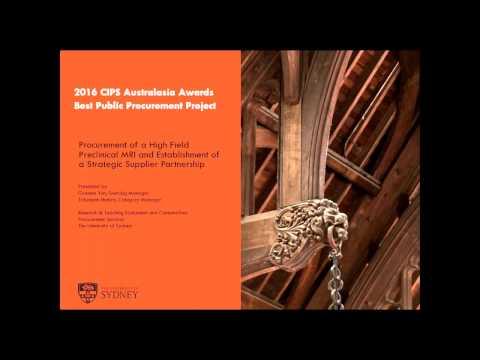 University of Sydney - CIPS Best in Procurement webinar
