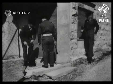 PALESTINE: Jewish terrorist group attacks Officers' Club (1947)