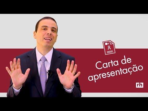 Видео Modelo de carta de apresentação brasil