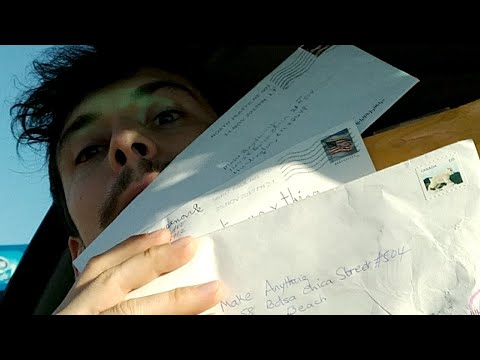 Quick Fanmail from the Road