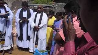 Rural Christian Funeral in India