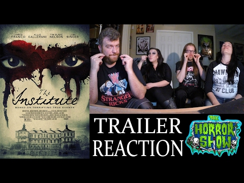 """The Institute"" 2017 Horror Movie Trailer Reaction – The Horror Show"