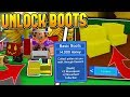 HOW TO UNLOCK BOOTS IN ROBLOX BEE SWARM SIMULATOR! *SUPER OP*