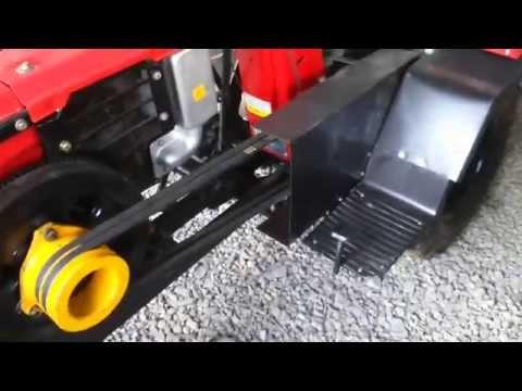 Как сделать минитрактор  из двигателя 374
