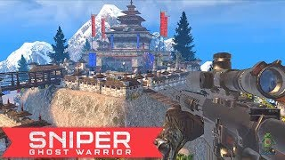SNIPER GHOST WARRIOR GAMEPLAY - iOS / ANDROID