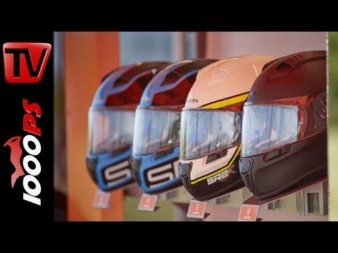 Schuberth Helme 2017 | Helmmodelle R2 und C4 | Blick hinter die Kulissen