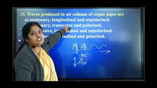 I PUC   Physics   CET/NEET/JEE   Waves