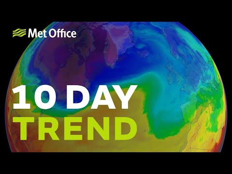 10 Day trend - Staying unsettled but will it stay cold?