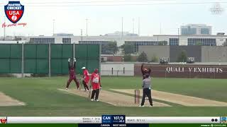 Canada vs West Indies - 8/17/21 Highlights - Americas cup Trination Tournament - Masters Cricket USA