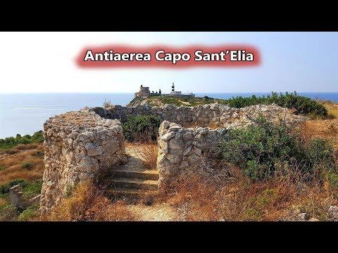 Antiaerea E Bunker Del Colle Di Sant'Elia A Cagliari ~ 2 Settembre 2019   Sardegna