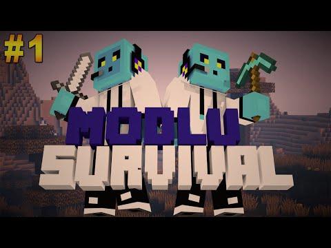 Minecraft Modlu Survival Bölüm 1