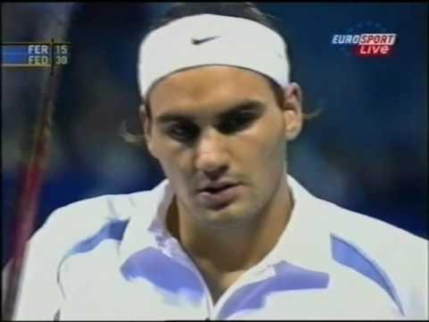 Federer vs Ferrero - Masters Cup (Shanghai) 2002 RR