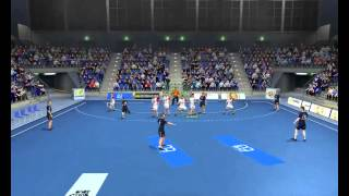 IHF Handball Challenge 12 Gameplay
