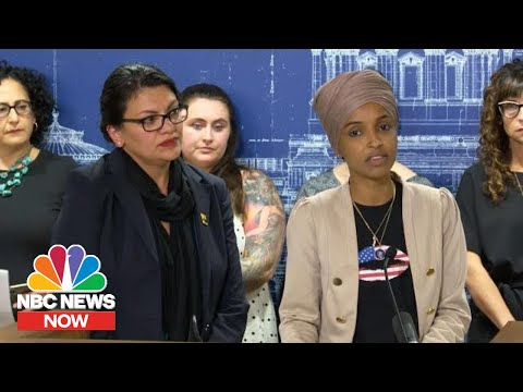 Omar And Tlaib Condemn Israel Travel Restrictions: 'Deeply Disturbed' | NBC News Now